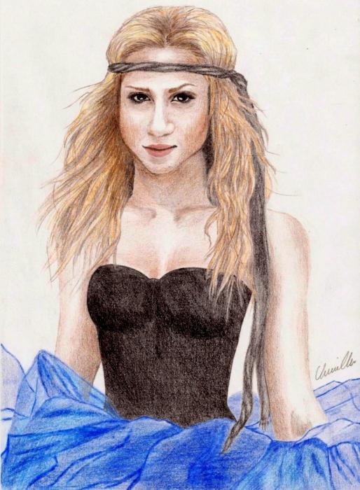 Shakira by Beesiak